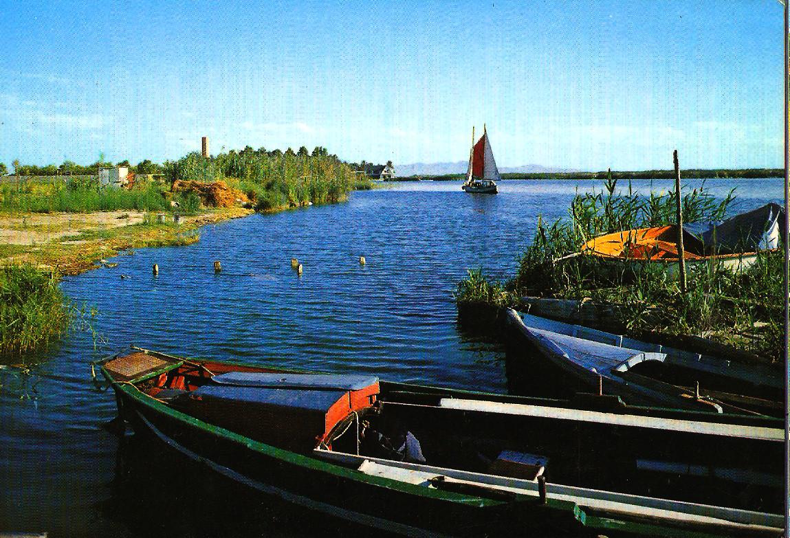 TEMATICA - Puertos pesqueros de España a través de las postales Albufe10