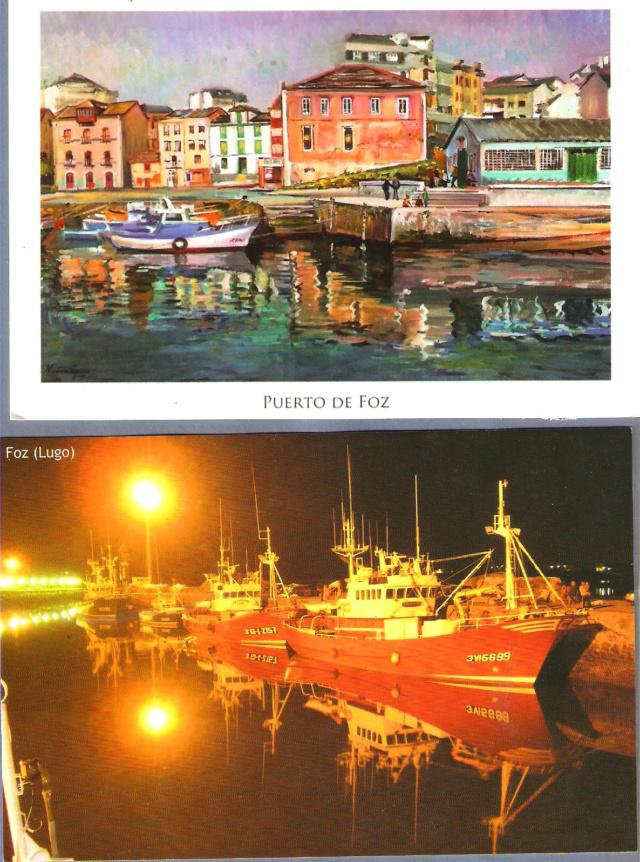 TEMATICA - Puertos pesqueros de España a través de las postales Foz11