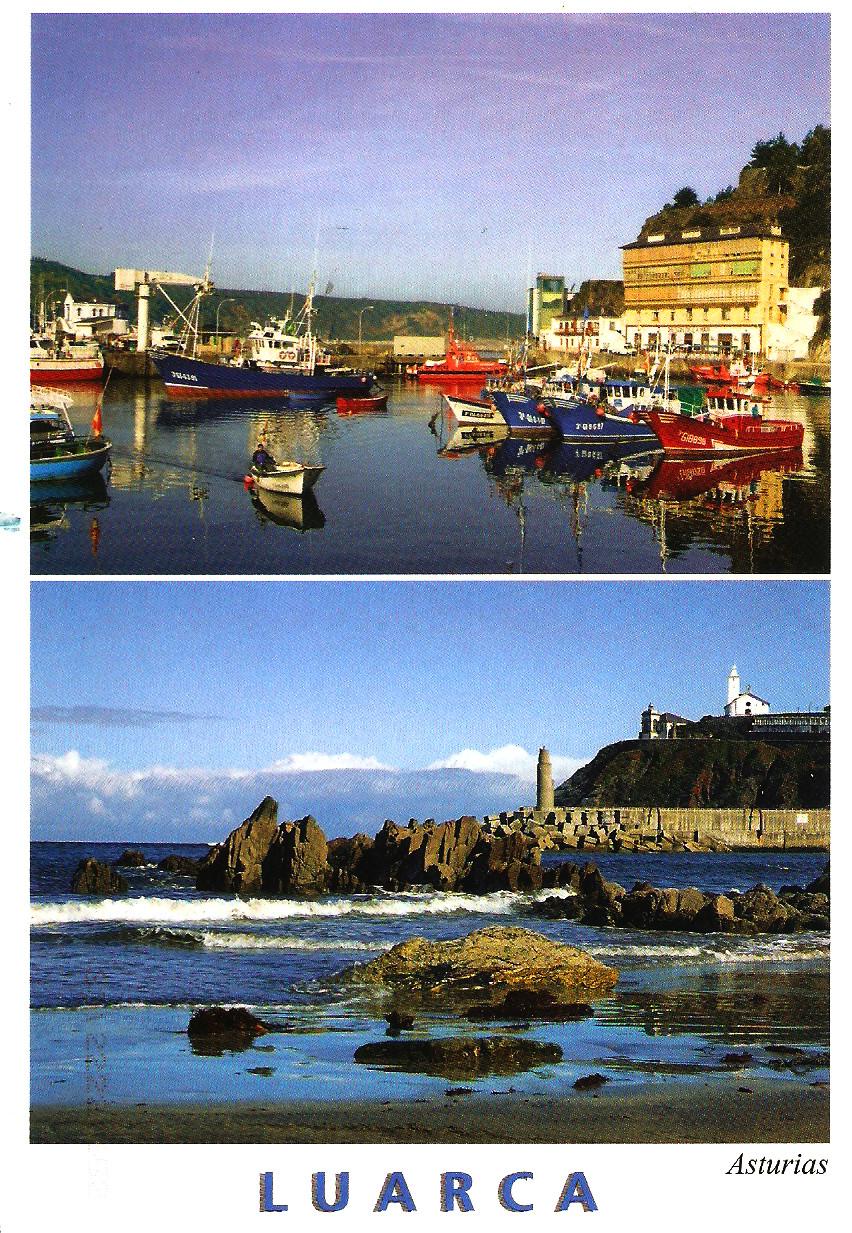 TEMATICA - Puertos pesqueros de España a través de las postales Luarca10