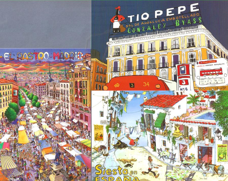 Diseños diferentes de la típica postal souvenir Postal10
