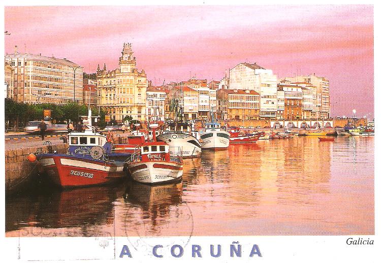 TEMATICA - Puertos pesqueros de España a través de las postales Puerto10