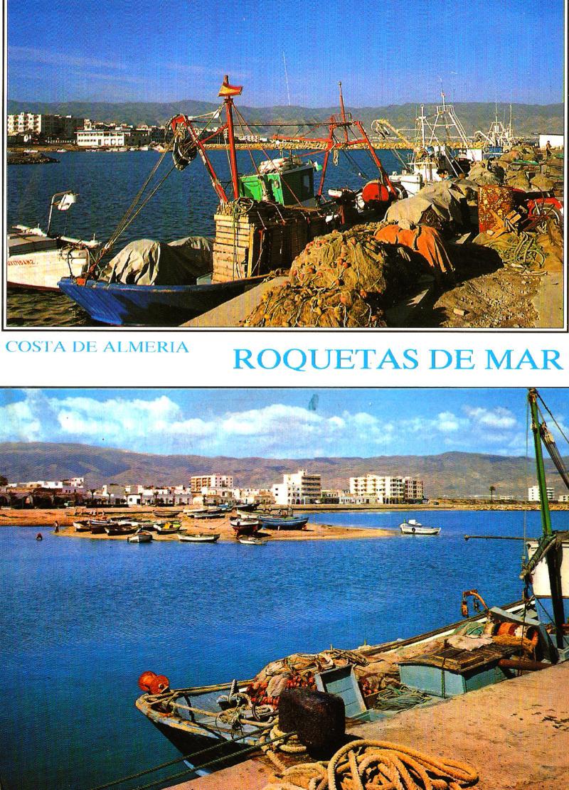 TEMATICA - Puertos pesqueros de España a través de las postales Roquet10