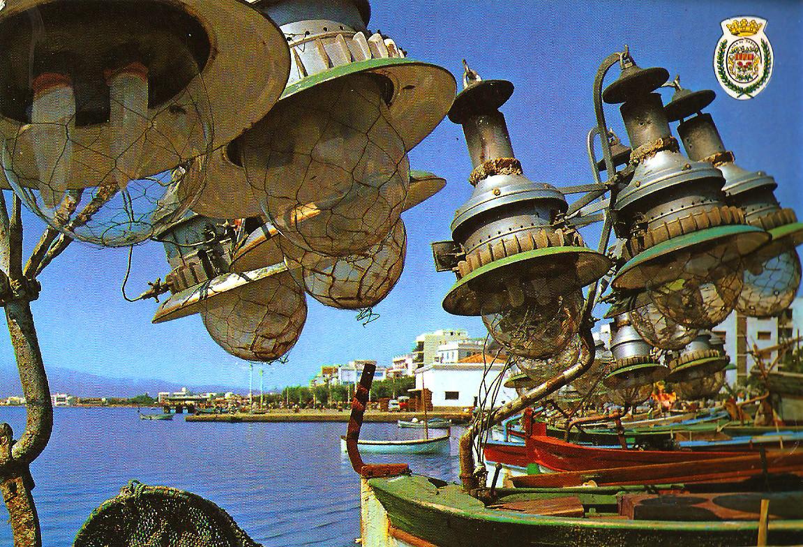 TEMATICA - Puertos pesqueros de España a través de las postales Rosas10