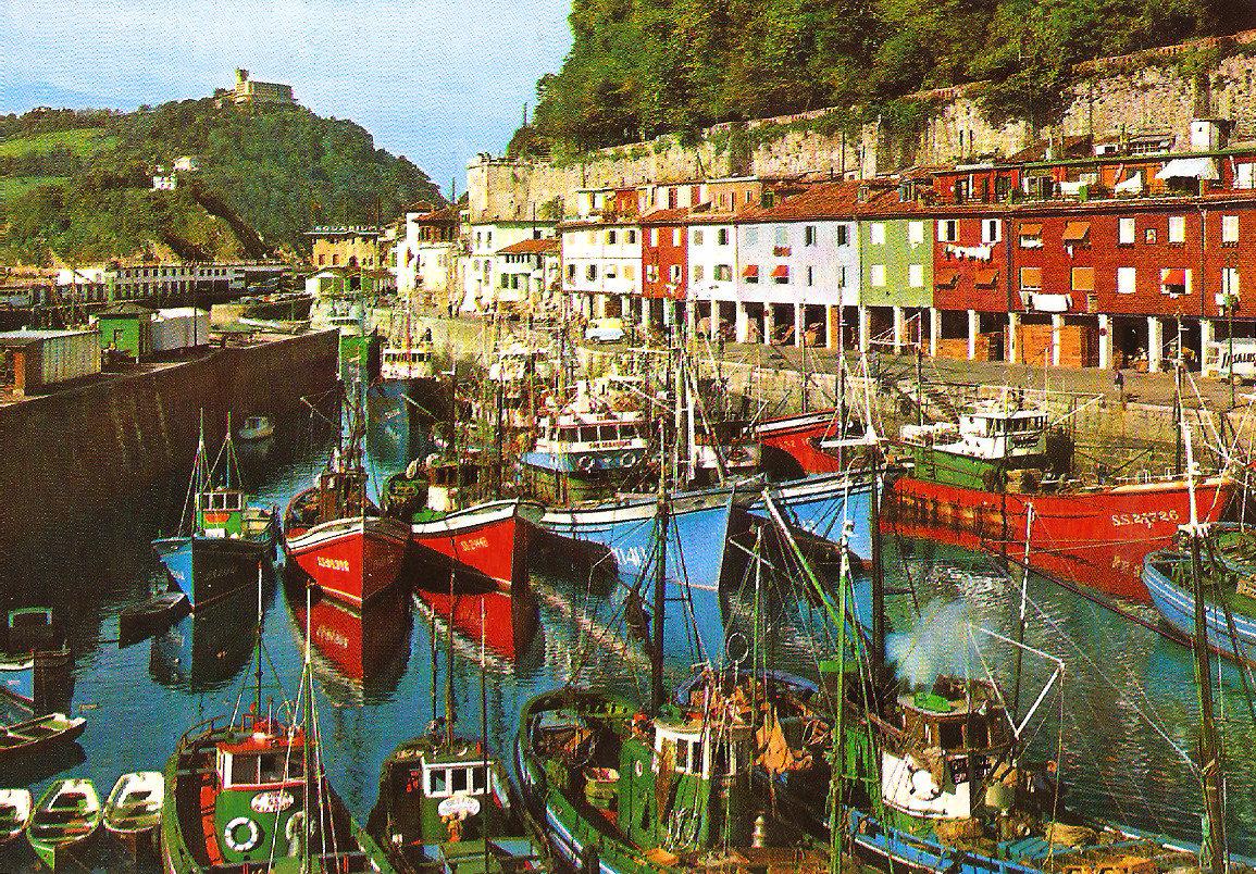 TEMATICA - Puertos pesqueros de España a través de las postales San_se11