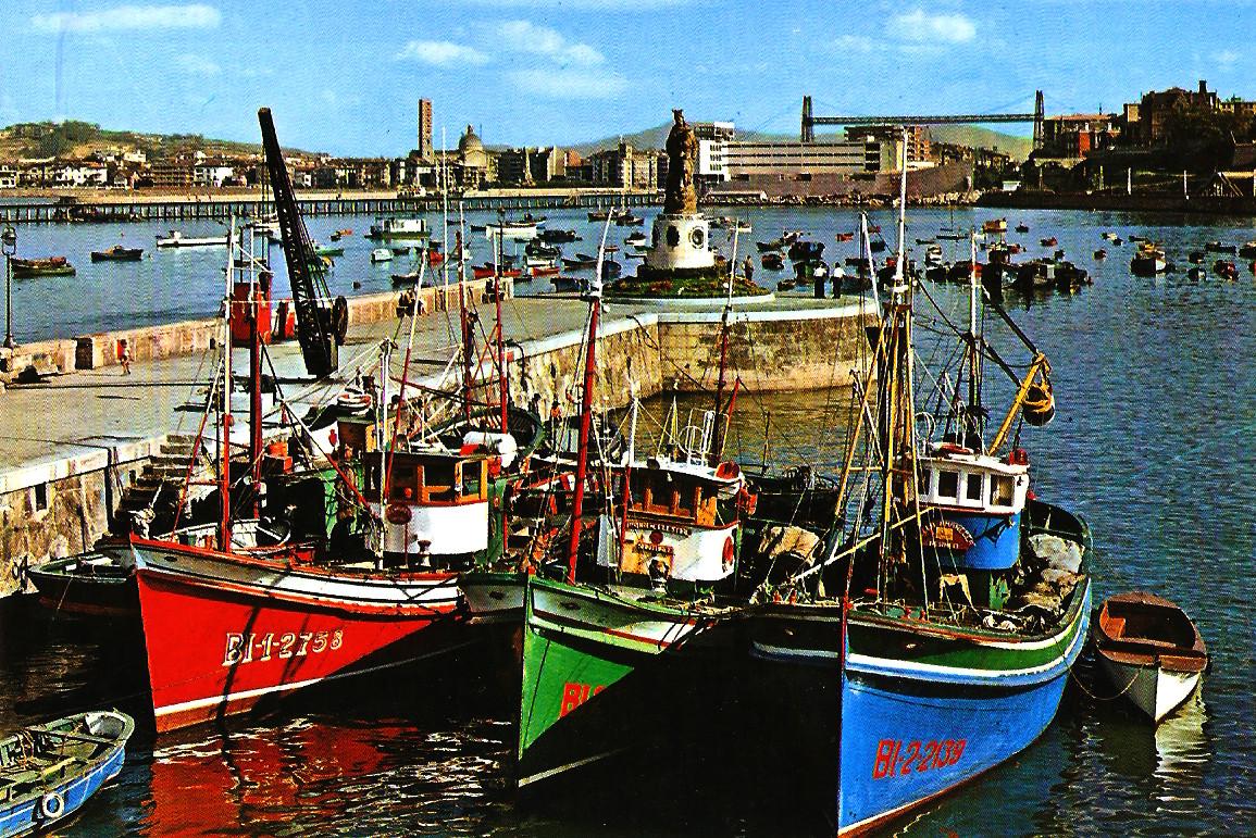 TEMATICA - Puertos pesqueros de España a través de las postales Santur12