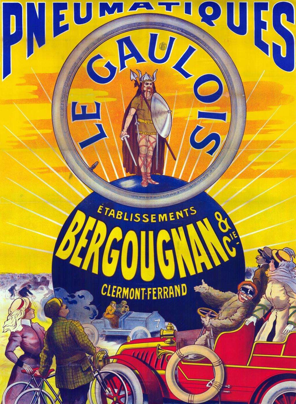 affiche pneu bergougnan Frad0610