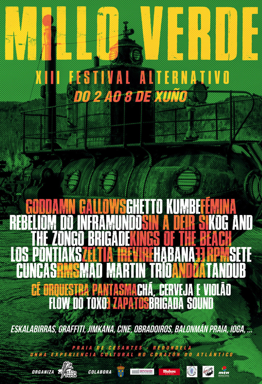 Agenda de giras, conciertos y festivales Cartel16