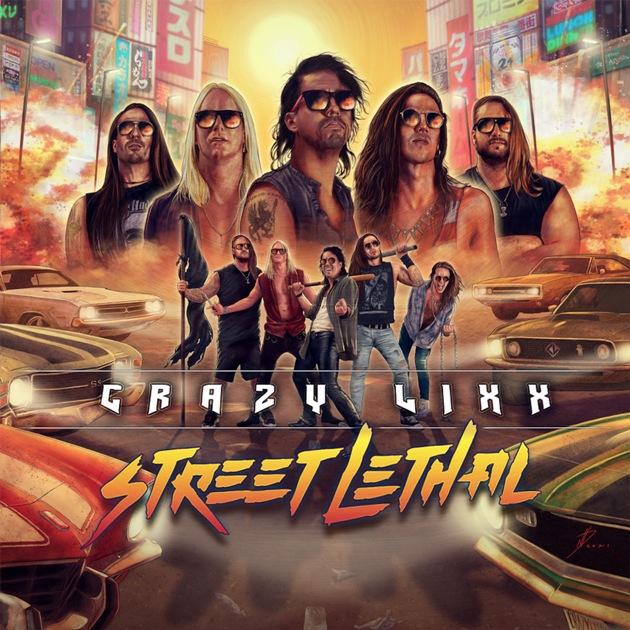 Crazy lixx: hard rock ochentero hecho por veinteañeros por aquí Crazy-10