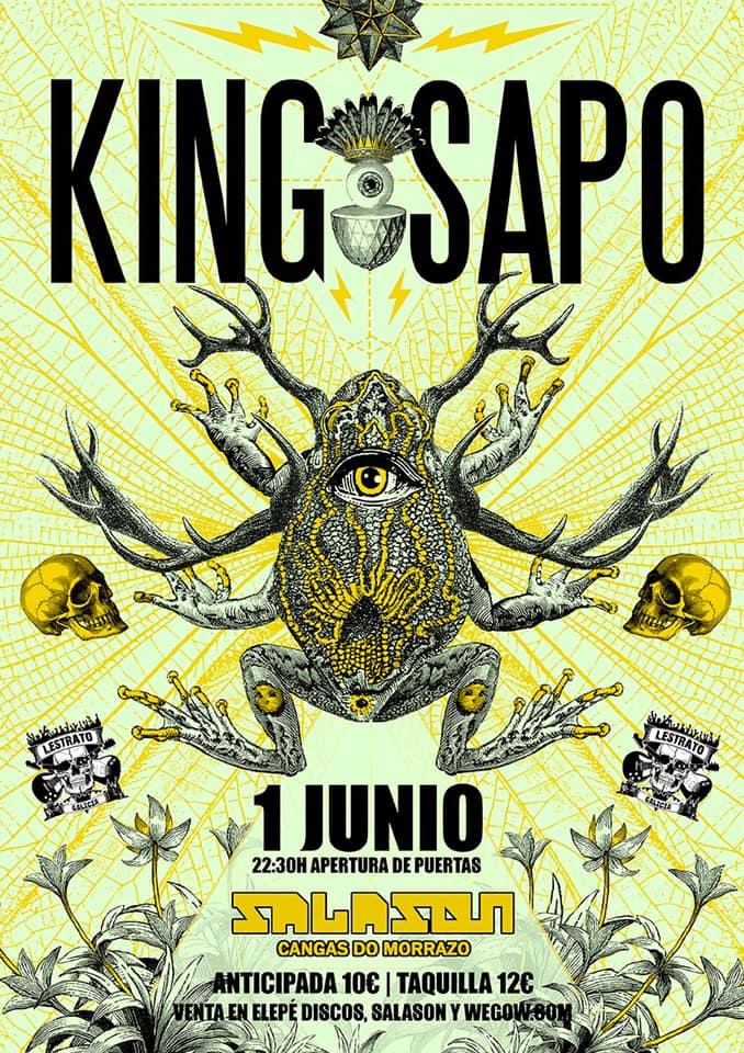Agenda de giras, conciertos y festivales King10