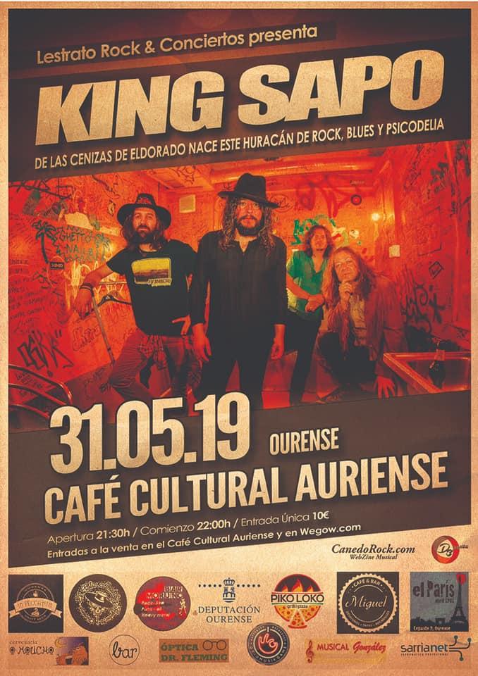 Agenda de giras, conciertos y festivales King_110