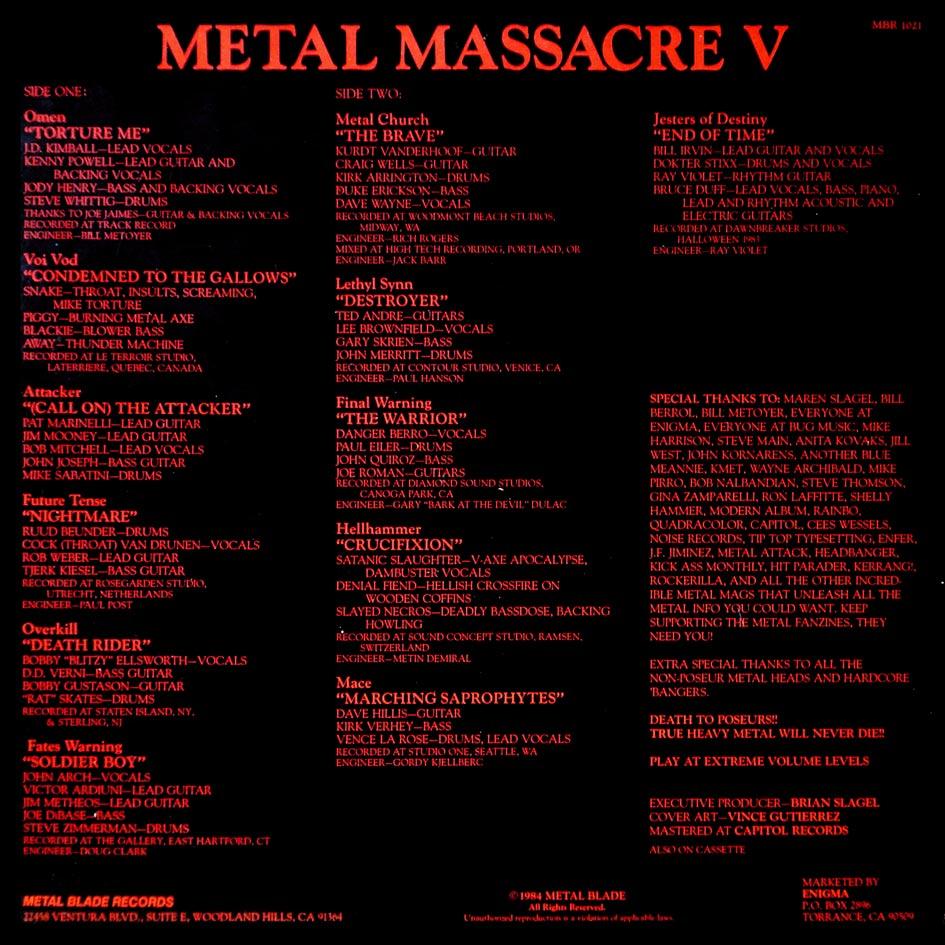 99 WAYS TO THRASH: XIX Voivod - Killing Technology - Página 2 Metalm10
