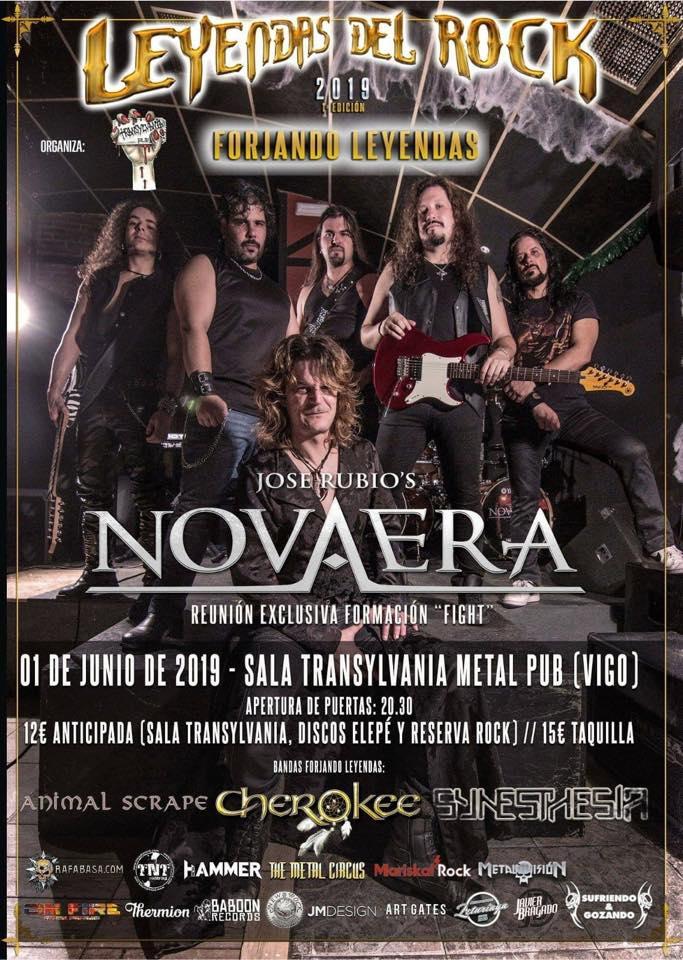 Agenda de giras, conciertos y festivales Novaer10