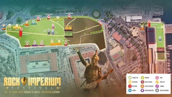 Rock Imperium Festival  24 y 25 de junio de 2022 en Cartagena (España)  Plano-10