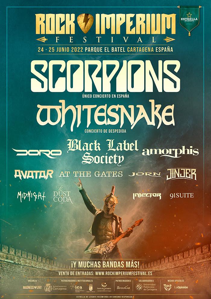 Rock Imperium Festival  24 y 25 de junio de 2022 en Cartagena (España)  Rock-i12