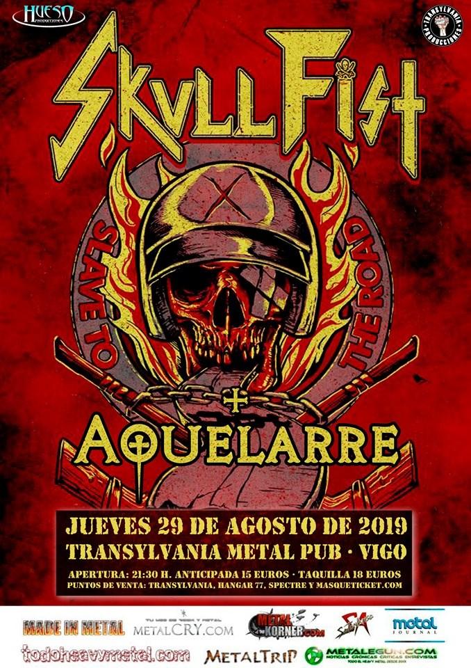 Agenda de giras, conciertos y festivales Skull10