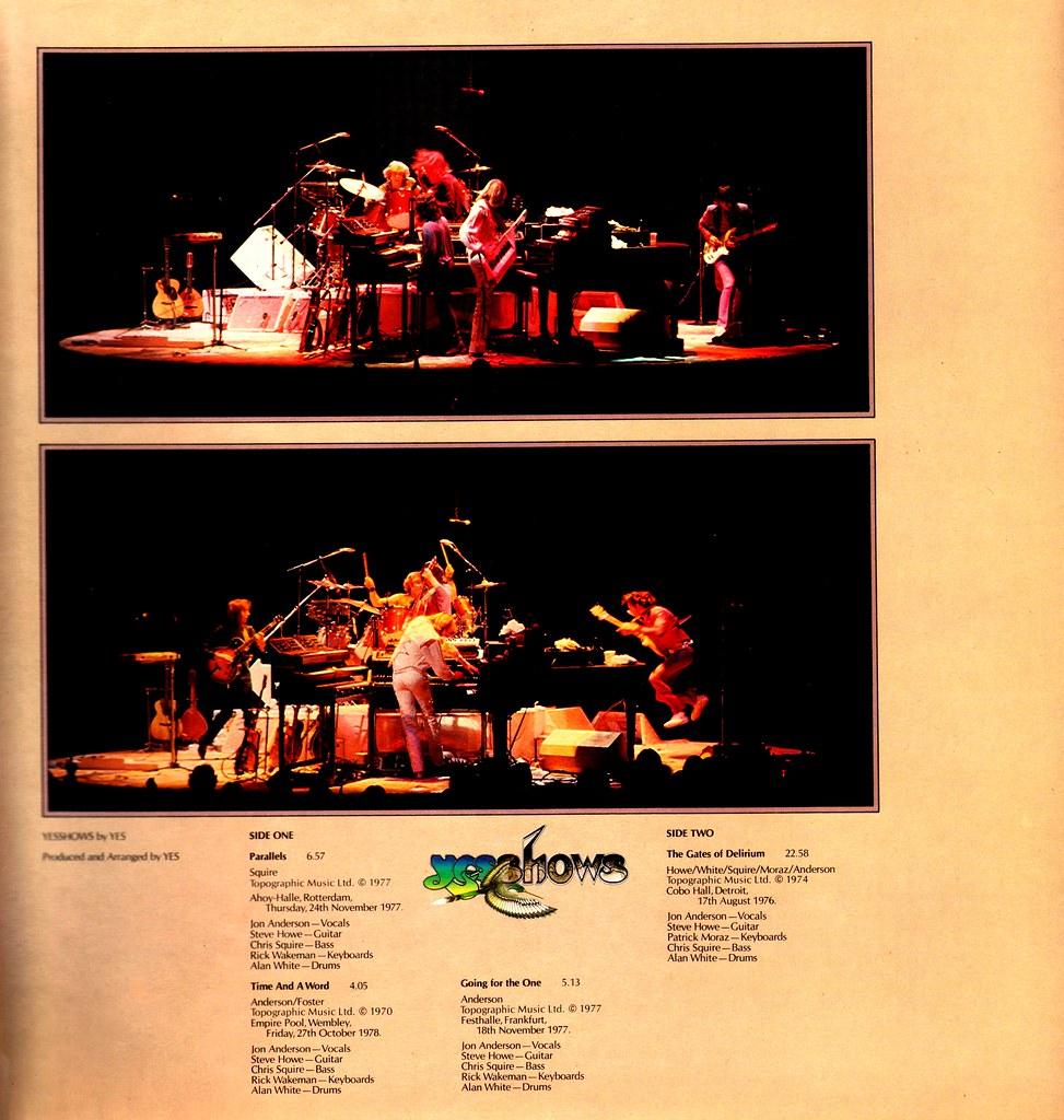 AFIRMATIVO: los discos de YES de peor a mejor - Página 5 Yessho10