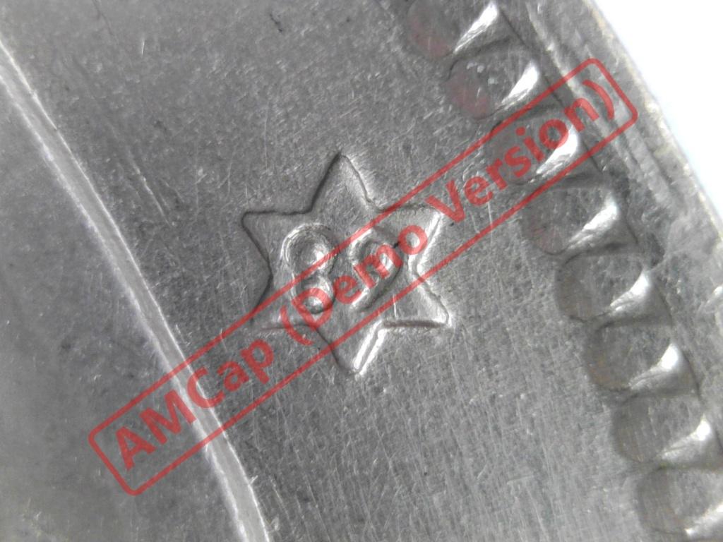 50 pesetas 1957 (*68). Estado Español. Troquelada 2017-116