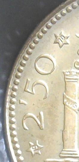 2,50 pesetas 1953 (*19*70). Estado Español 2017-124