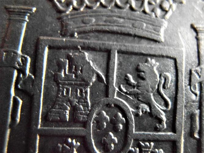 8 reales 1795. Carlos IV Lima. A petición de REVERSO12 211
