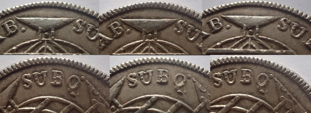 960 Reis 1814. Joao VI. Brasil. 7710