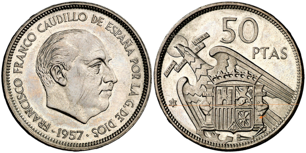 50 pesetas 1969 (*69). Estado Español 8810