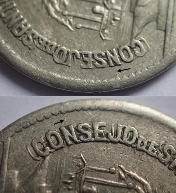 50 céntimos 1937. Consejo Santander, Palencia y Burgos.  A10