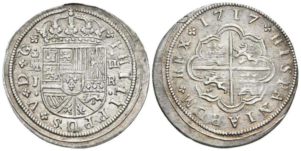 2 Reales Felipe V 1723 - Madrid  A15