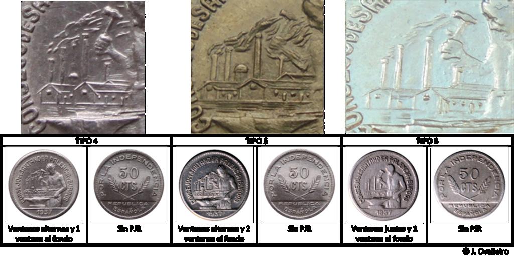 50 céntimos 1937. Consejo Santander, Palencia y Burgos.  A19