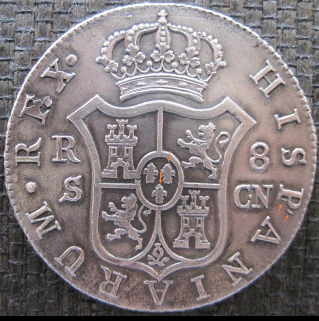 8 Reales 1809. Fernando VII. Sevilla A32