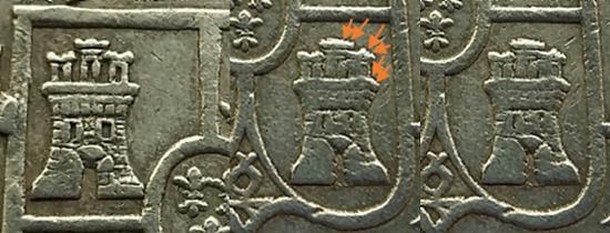 8 Reales 1820. Fernando VII. Zacatecas AG  A35
