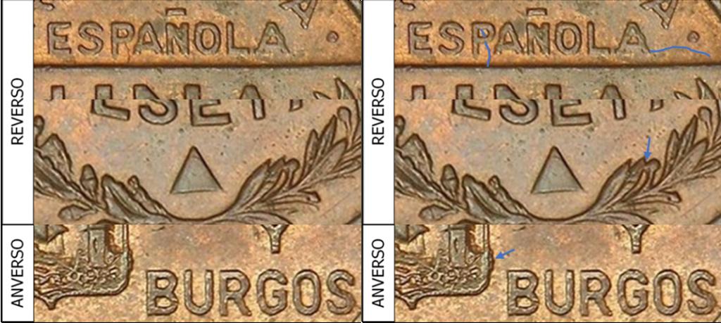1 Peseta 1937. Consejo Santander Palencia y Burgos. PRUEBA Aa29