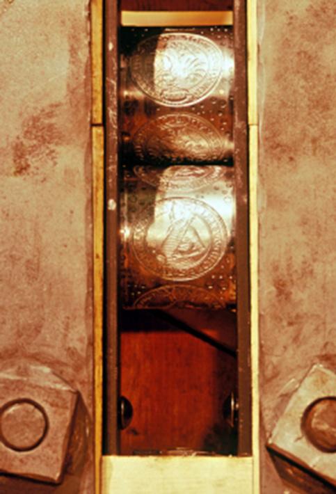 Acuñaciones a rodillo en Segovia B12