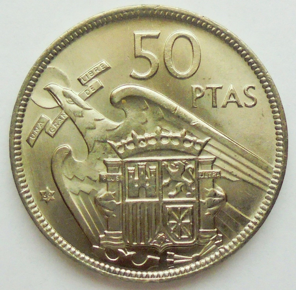50 pesetas 1969 (*69). Estado Español Dsc07911