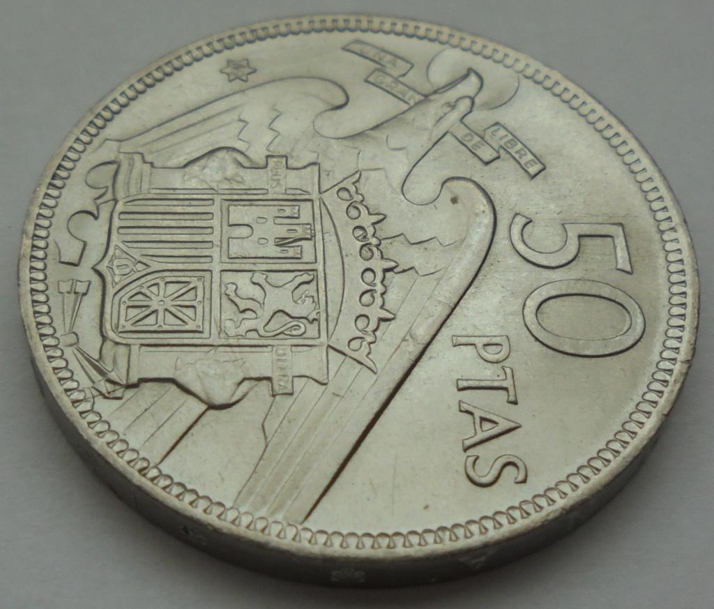 50 pesetas 1969 (*69). Estado Español Dsc07914