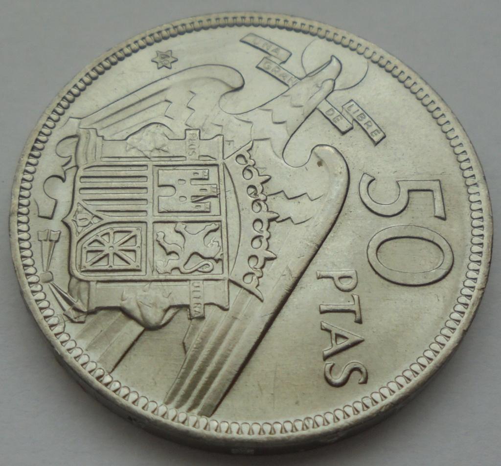 50 pesetas 1969 (*69). Estado Español Dsc07915