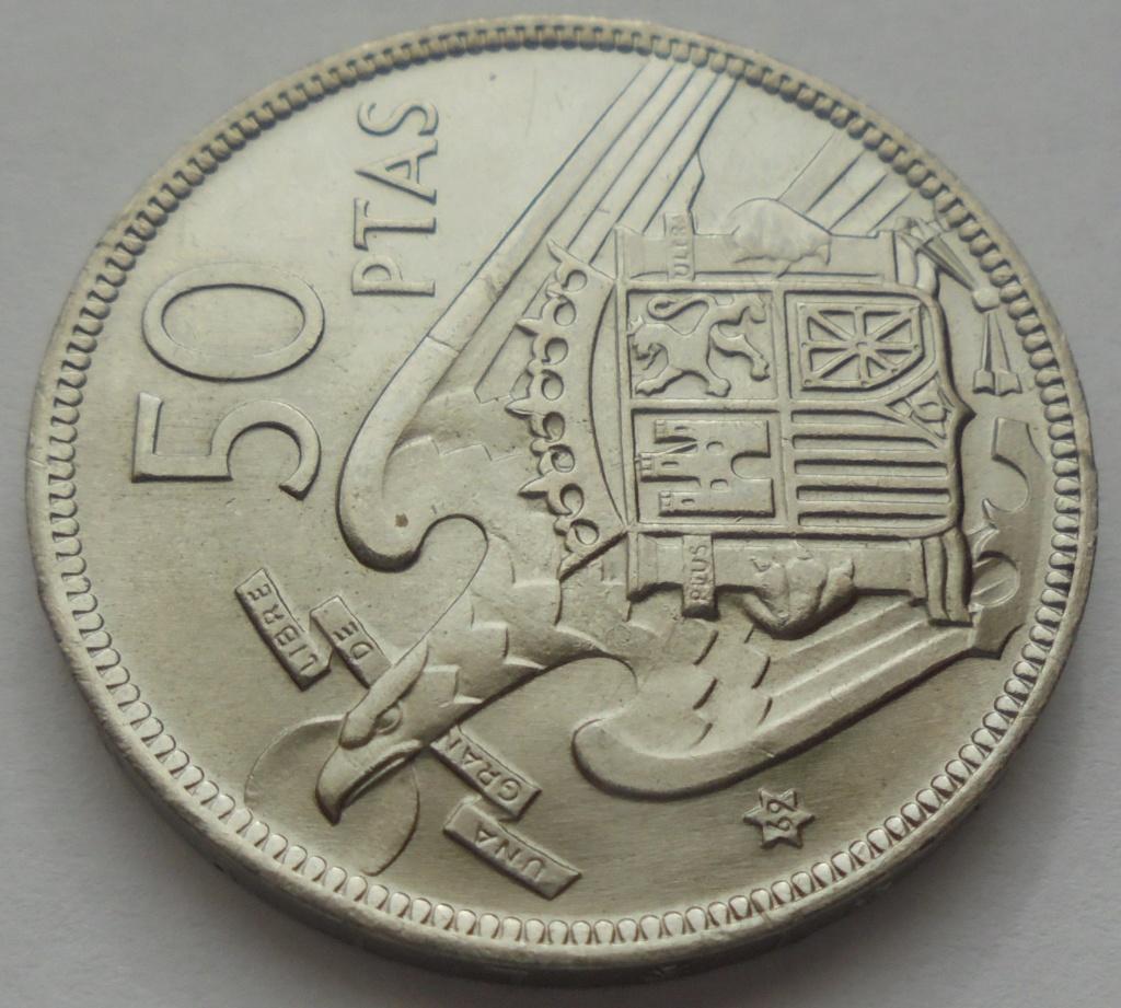 50 pesetas 1969 (*69). Estado Español Dsc07919