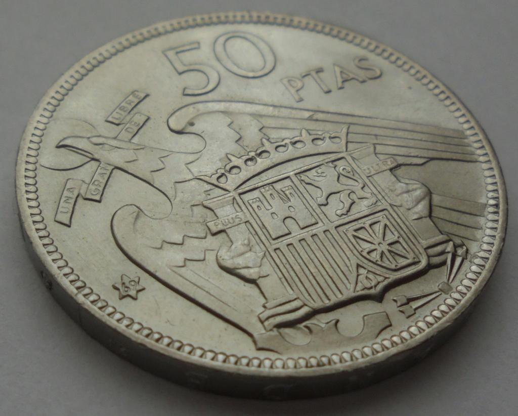 50 pesetas 1969 (*69). Estado Español Dsc07920