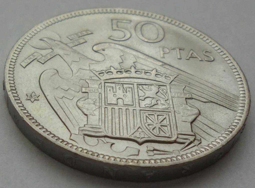 50 pesetas 1969 (*69). Estado Español Dsc07921