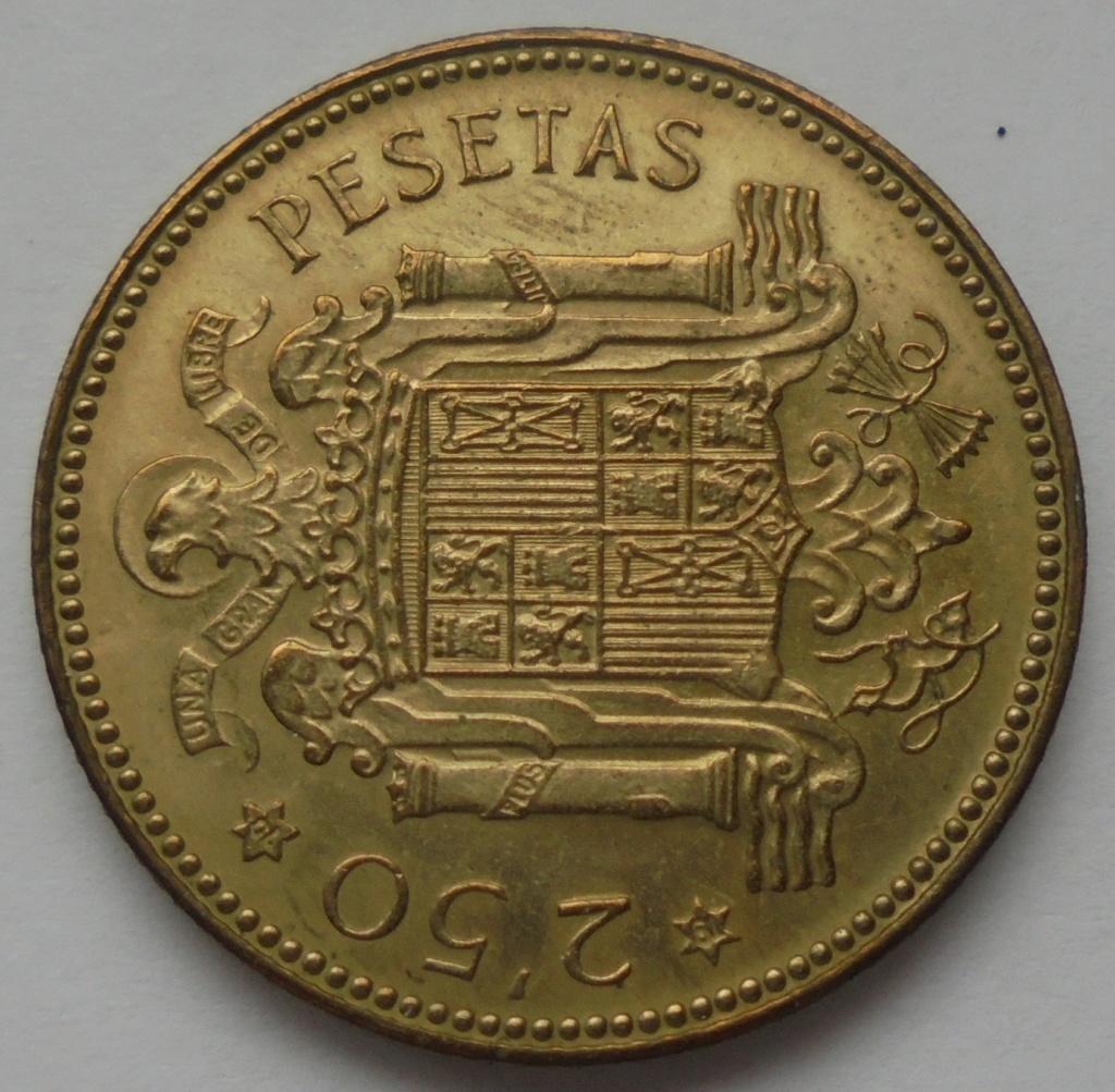 2,50 pesetas 1953 (*19*70). Estado Español Dsc08022