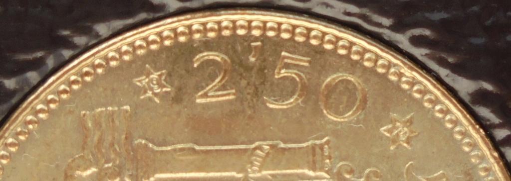 2,50 pesetas 1953 (*19*70). Estado Español Dsc08210