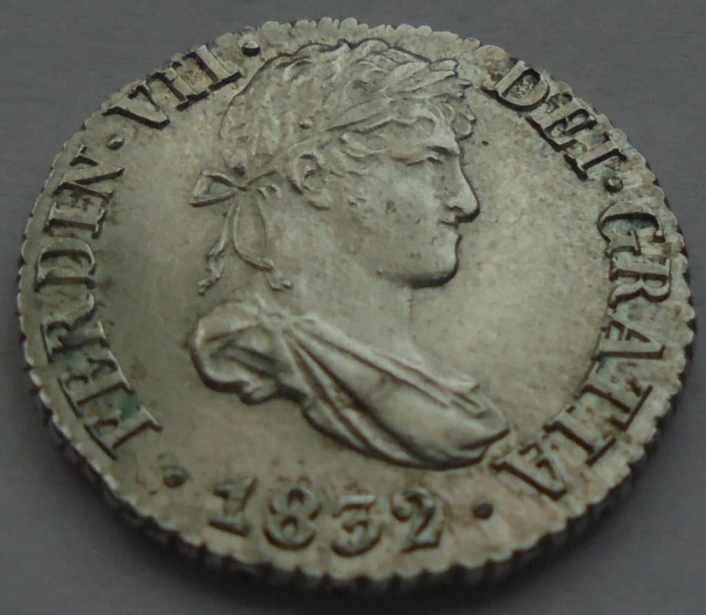 1/2 real 1832 Fernando VII. Sevilla Dsc09110