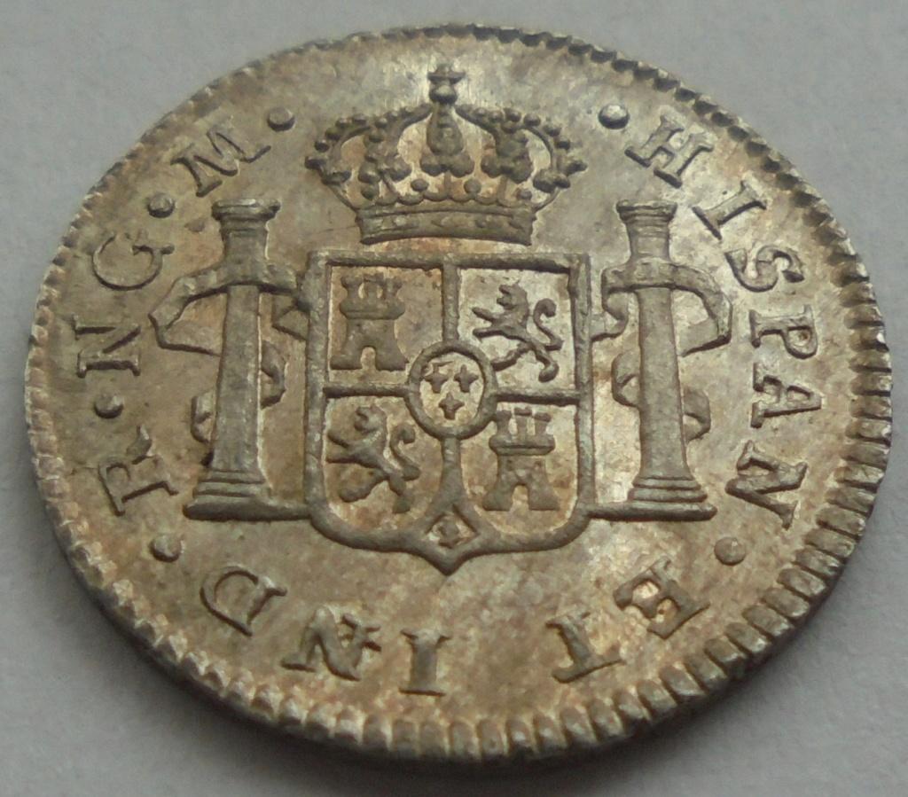 1/2 real  1820. Fernando VII. Guatemala - DEDIT KEKO Dsc09513