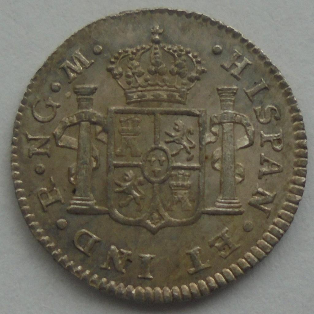 1/2 real  1820. Fernando VII. Guatemala - DEDIT KEKO Dsc09514