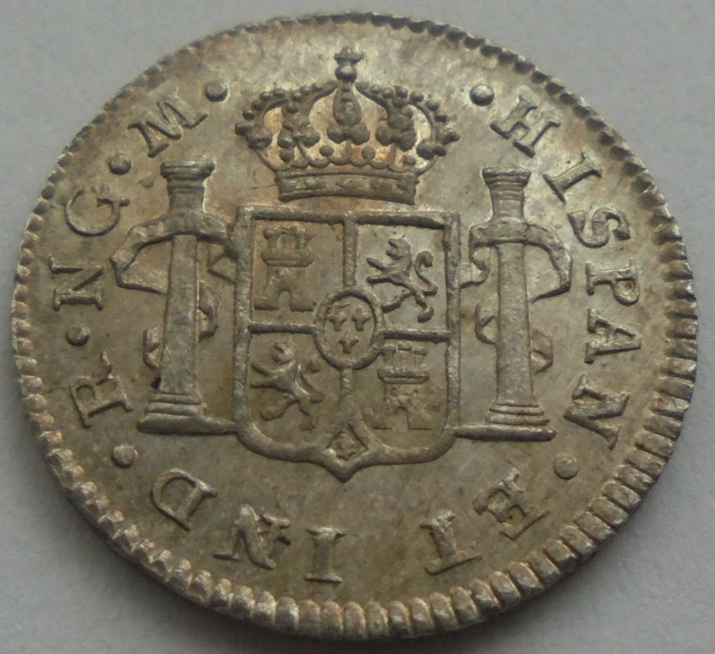 1/2 real  1820. Fernando VII. Guatemala - DEDIT KEKO Dsc09515