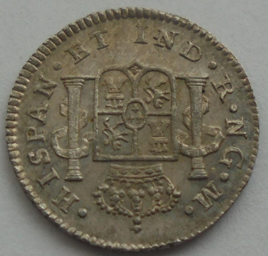1/2 real  1820. Fernando VII. Guatemala - DEDIT KEKO Dsc09610
