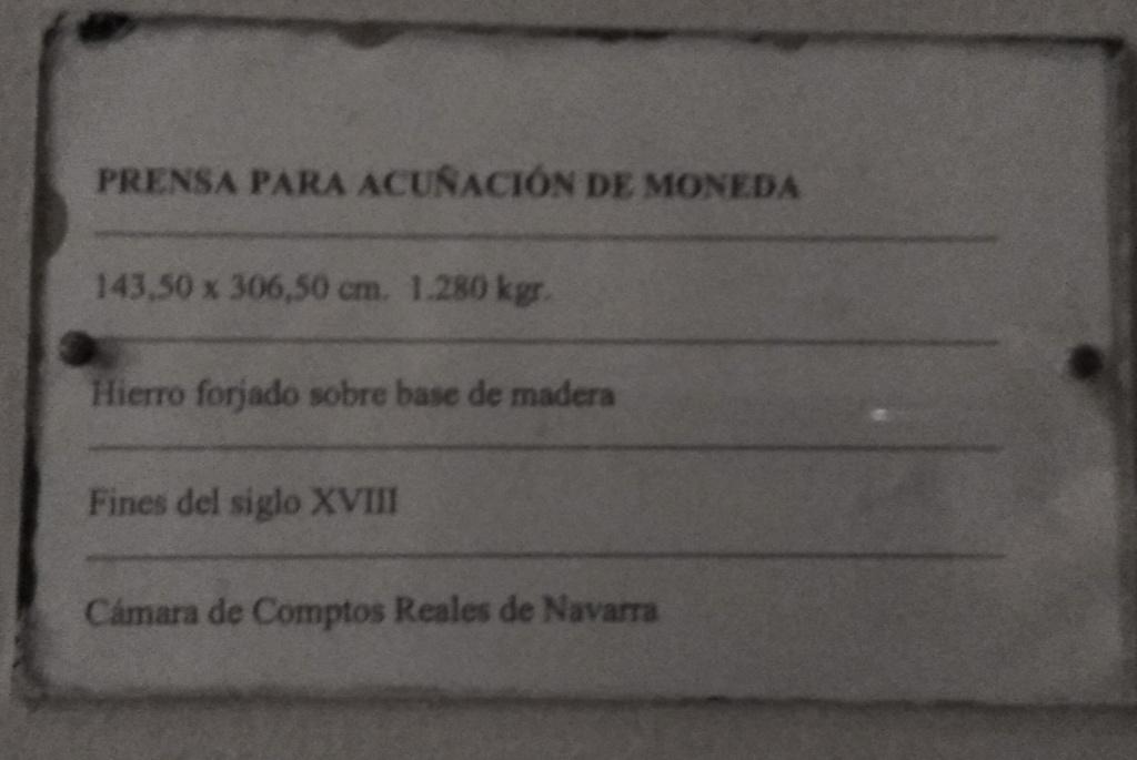 PRENSA DE ACUÑACION CECA PAMPLONA Img_2199