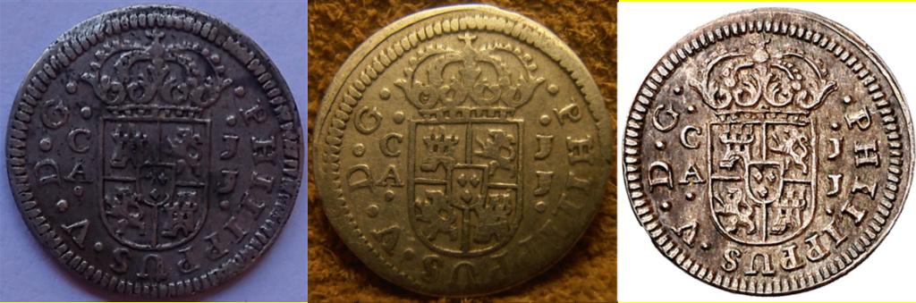 1/2 Real 1719 Felipe V Cuenca JJ L10