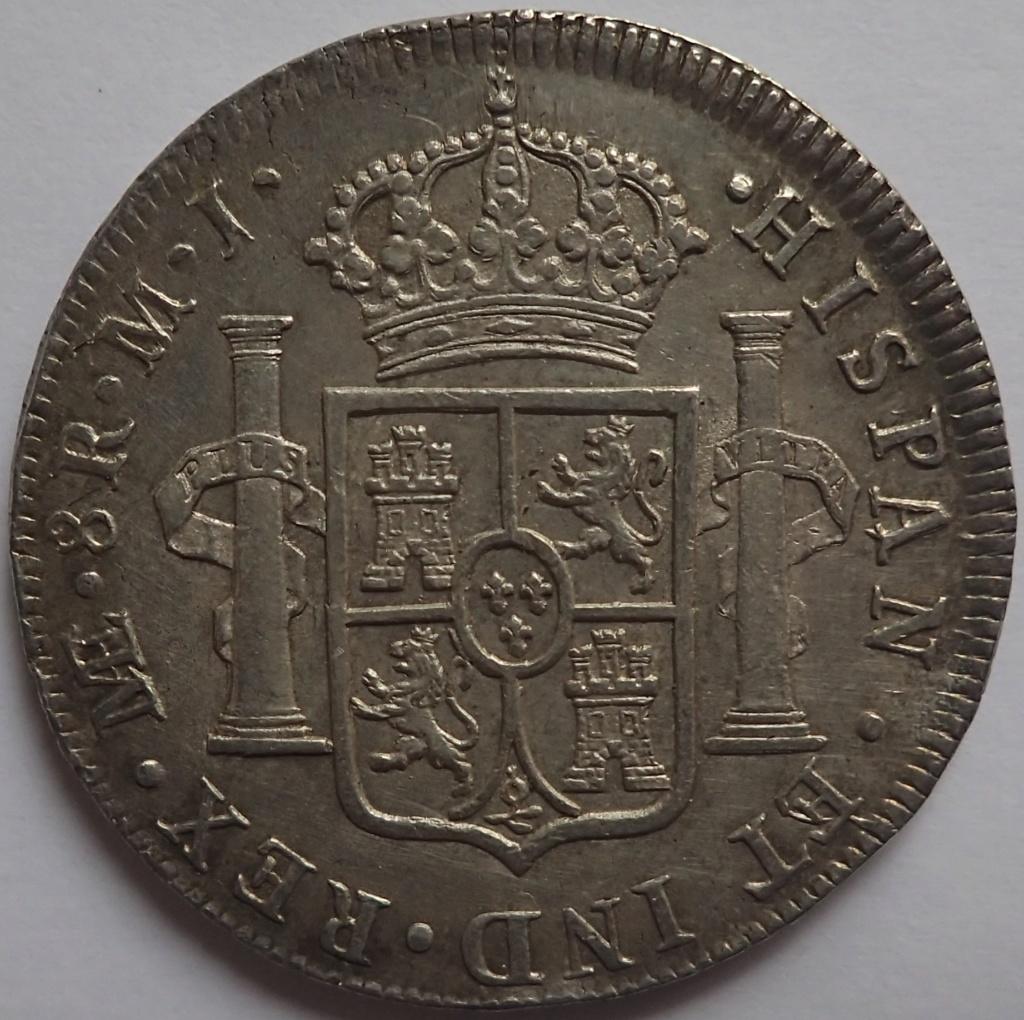 8 Reales de 1774 Carlos III. Lima. MJ P1240110