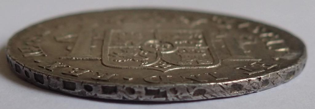 8 Reales de 1774 Carlos III. Lima. MJ P1240111