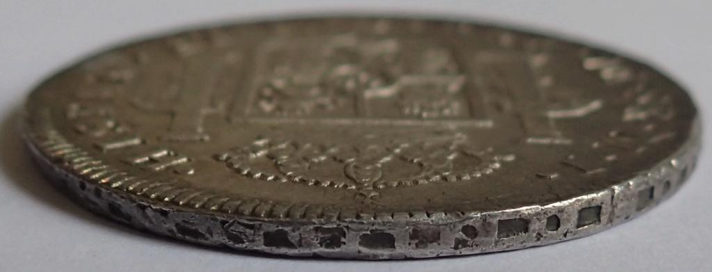 8 Reales de 1774 Carlos III. Lima. MJ P1240112